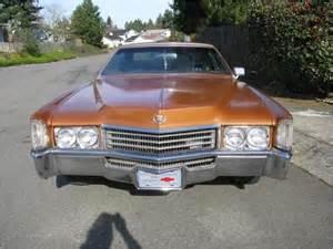 Cadillac Eldorado 8 2 Liter Purchase Used 1970 Cadillac Eldorado Coupe Big Block 8 2