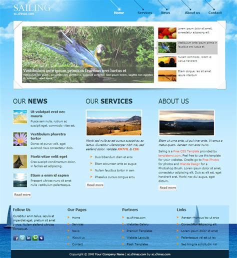 html templates for tourism website free download travel navigation css website templates over millions
