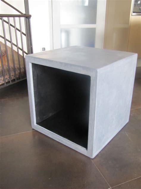 beton cube cubes multifonctions en b 233 ton cir 233 table beton cire