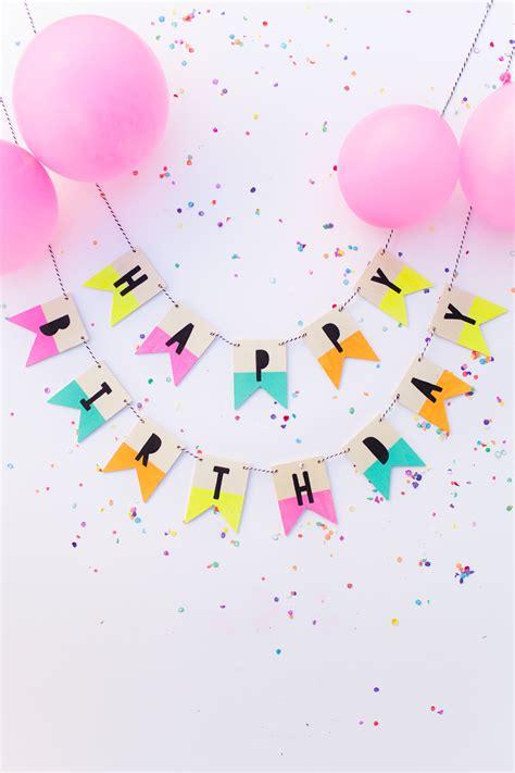 tumblr themes happy birthday 15 adorable diy birthday banners