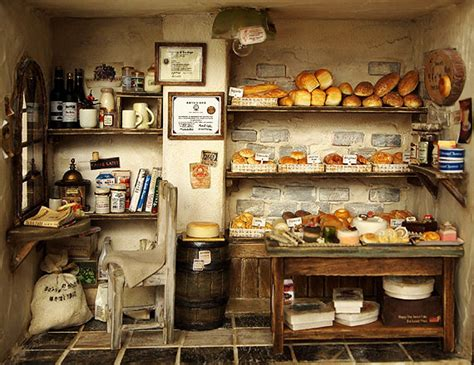 Shop Handmade - the bakery vintage country small bread shop handmade