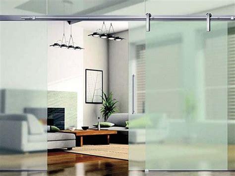 modern glass room dividers interior design