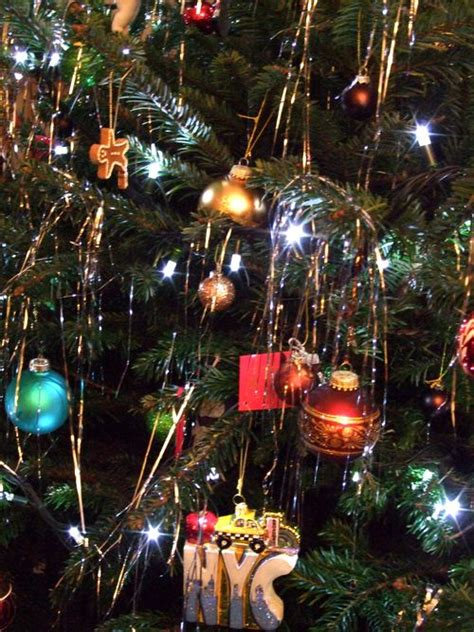 Holiday Decors by Christmas Tree Decorations Lametta Christmas Decorating