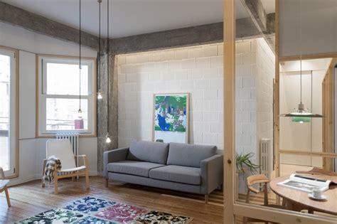 design apartment bilbao glass partitions jazz up refurbished bilbao apartment