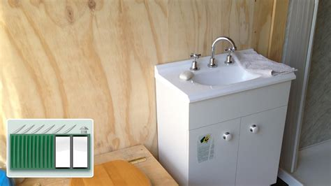 container store bathroom storage shipping container house installing bathroom sink basin