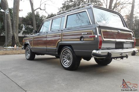 jeep grand wagoneer new 1988 jeep grand wagoneer new paint only 128k no reserve