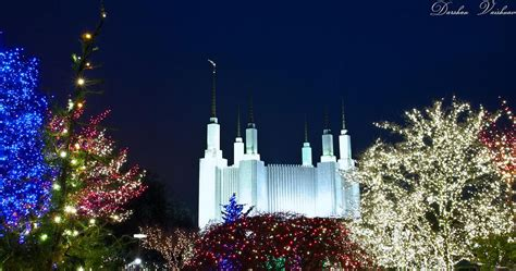 temple of lights mormon temple washington dc mormon