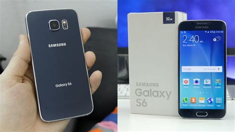 samsung galaxy s6 unboxing mini review
