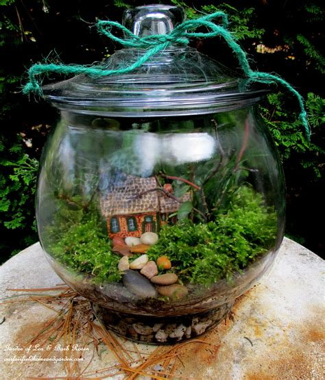 fairy terrarium diy project design a rustic cottage getaway in a terrarium our fairfield home garden