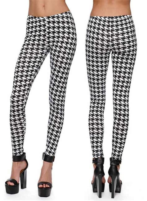 houndstooth pattern leggings blake lively does houndstooth in her print on print isabel