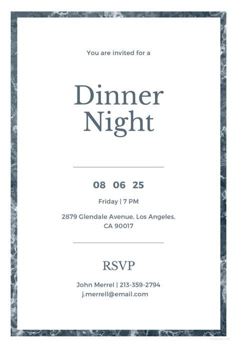 50 Printable Dinner Invitation Templates Psd Ai Free Premium Templates Free Printable Dinner Invitations Templates