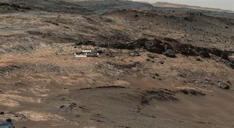 Rover Background Check News Detour By Nasa Mars Rover Checks Ancient Valley