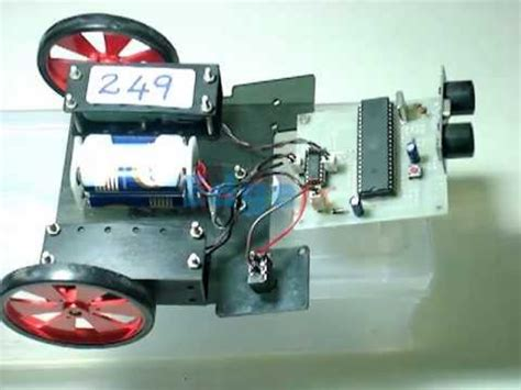 obstacle avoidance robot robotics project  engineering students youtube