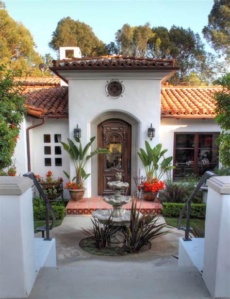 spanish colonial revival spanish colonial revival traditional entry los