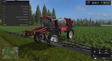 fs 17 miller nitro 5250 sprayer farming simulator 2015