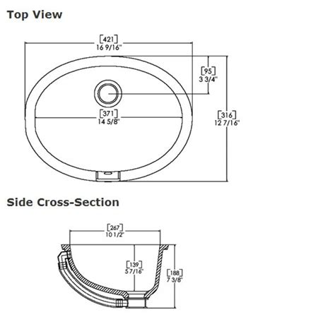 average bathroom sink size undermount kitchen sink dimensions