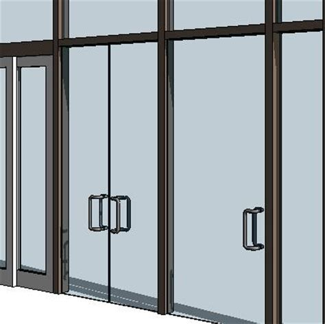 revit curtain wall door curtain wall swing panels 3d model formfonts 3d models