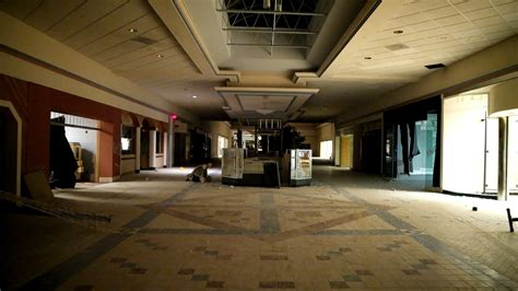 With Abandon abandoned mall with power found creepy statues