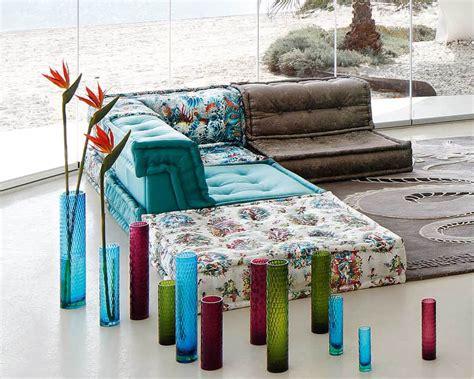 roche bobois mah jong sofa  jean paul gaultier designed