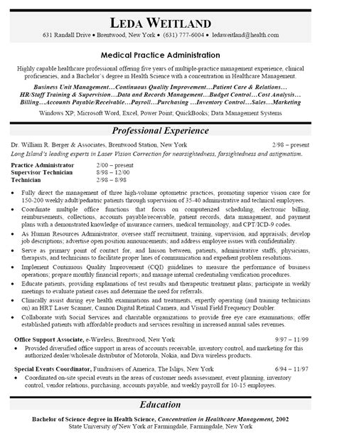 career objective for ms office administrator curriculum vitae http www