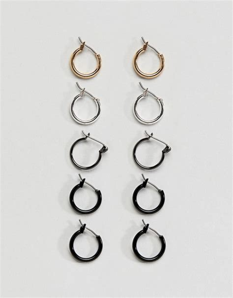Asos Hoop Earring Pack asos asos hoop earring pack