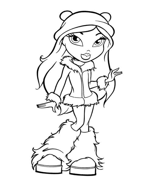 bratz babyz coloring pages to print coloring home