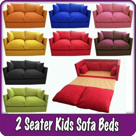 fold out couch kids kids children s sofa fold out bed boys girls seating seat