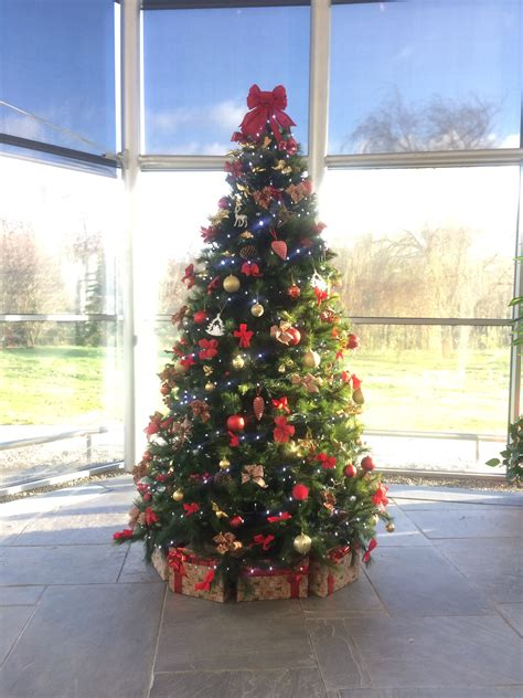 corporate christmas tree hire florist limerick flowers