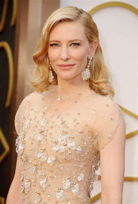 Get The Look Cate Blanchetts Feathered Tresses by Cate Blanchett Martinis And Mascara
