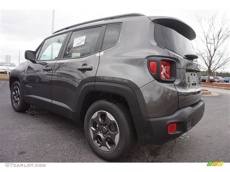 granite jeep renegade 2017 granite crystal metallic jeep renegade sport