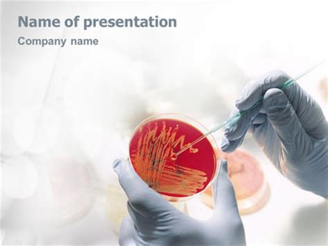 microbiology presentation template for powerpoint and