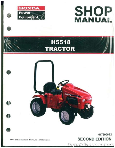 honda mower manual honda h5518 lawn tractor shop manual