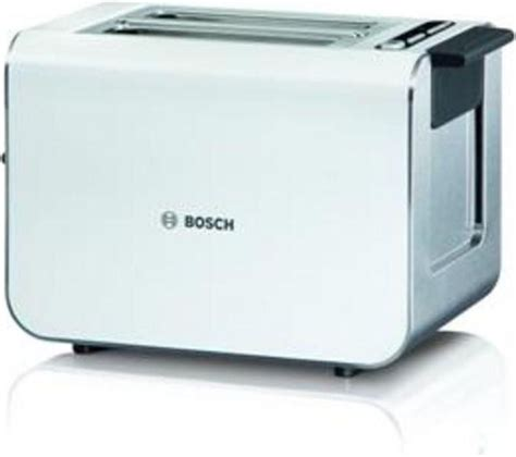 Bosch Toaster buy bosch styline tat8611gb advantage 2 slice toaster white free delivery currys
