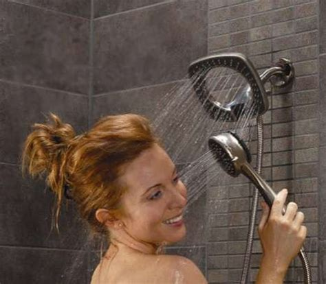 2 In 1 Shower by Dual Shower Heads Go Ahead Spoil Yourself