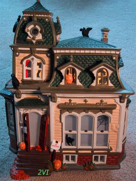 dept 56 halloween haunted mansion department 56 snow