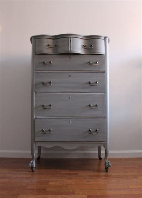Grey Vintage Dresser by Vintage Grey Dresser Chest Of Drawers Bureau
