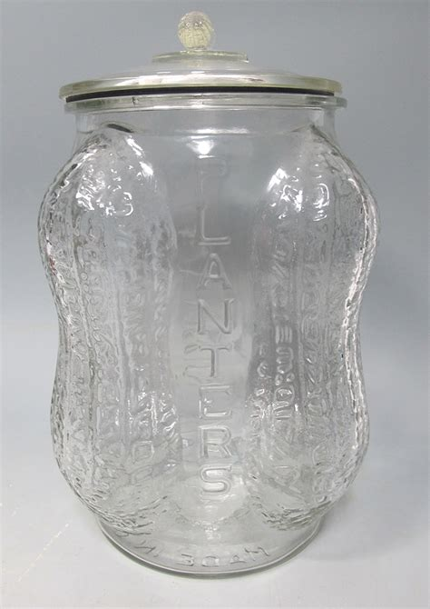 Antique Planters Peanut Jar by 1930 S Classic Planters Peanut Store Counter Advertising