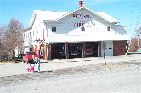 shoe house in pa snow shoe pa fire house photo picture image pennsylvania at city data com