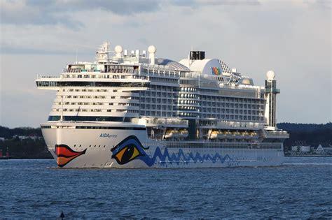aidaprima passagiere aidaprima kreuzfahrtschiff imo 9636955
