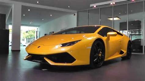 Lamborghini Brand Picking Up Our Brand New Lamborghini Huracan