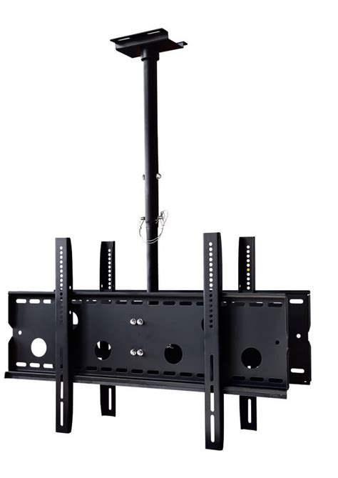 new dual tv ceiling mount for 32 quot 60 quot tvs on sale