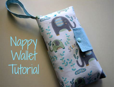 define pattern holder nappy wallet tutorial and sew we craft