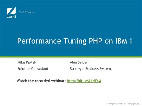 Learning And Performance Consultant At Sheryl Waxler Ph D Mba by Performance Tuning Php On Ibmi