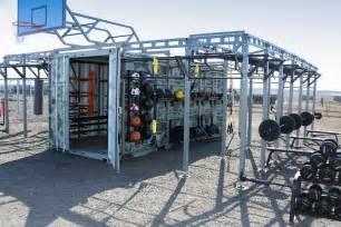 500 Sq Feet amazing mobile gym by russian army slavorum