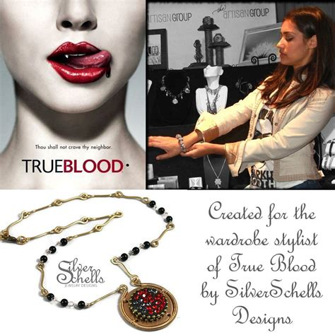 SilverSchells : My jewelry piece for the TV Series True Blood on HBO!!