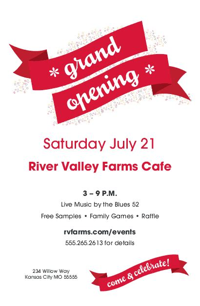 opening soon flyer template grand opening flyer restaurant flyer