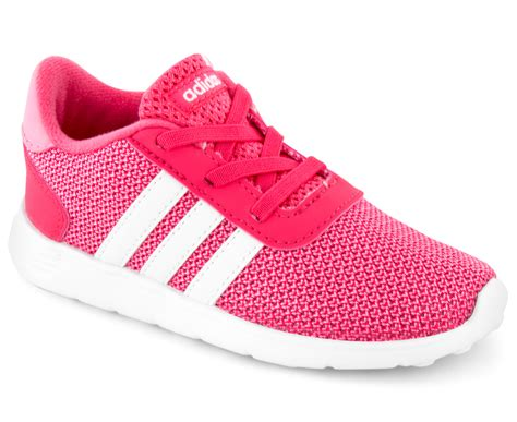 adidas toddler lite racer shoe real pink light pink white great daily deals at australia s