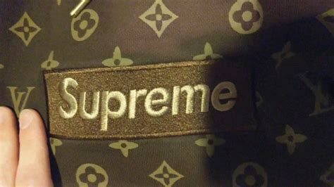 Louis Vuttion X Supreme Bogo Hoodie supreme x louis vuitton box logo hoodie review unhs
