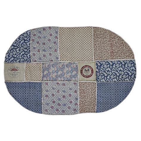 Large Oval Area Rugs Millie Patchwork Oval Rug Large