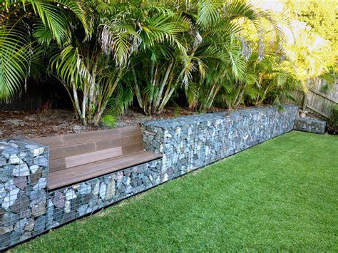 jardim decorado pedras e grama muros de pedras um atrativo para o seu jardim ideias
